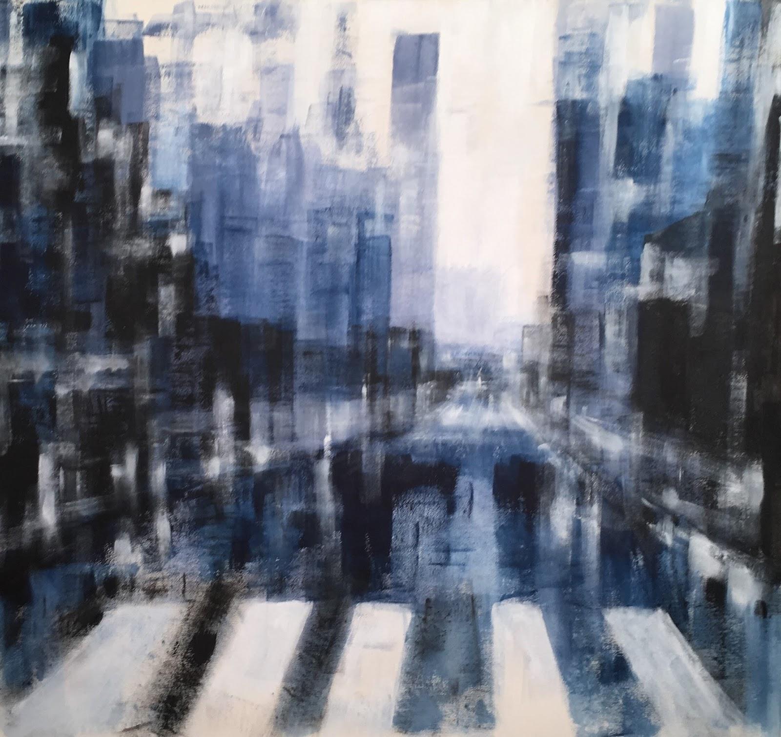 N°4129 - Acrylique sur toile - 120 x 130 cm - 21 avril 2018